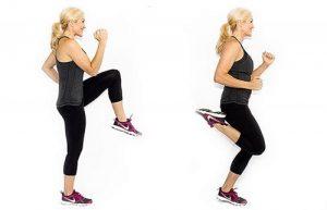 Warm-up exercise before training
