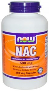 NAC 600 mg 250 capsules on a plant basis
