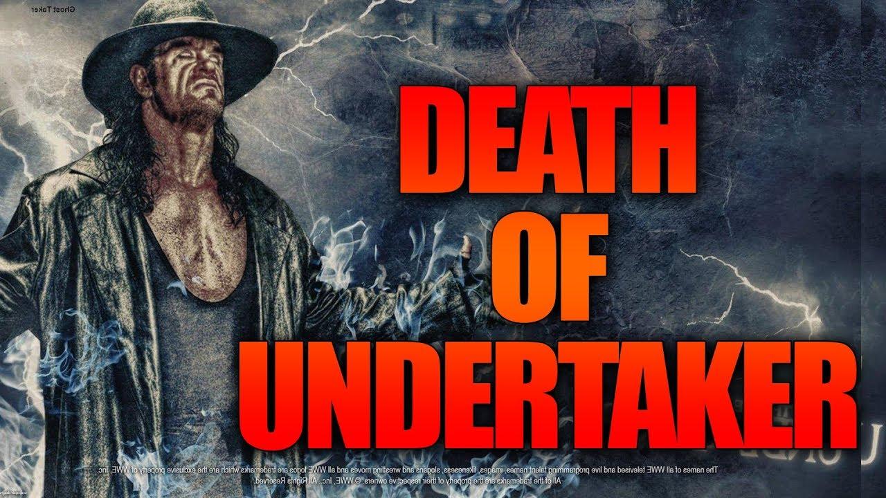 The Undertaker death