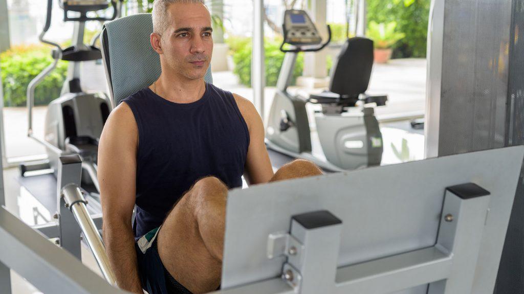 leg day workout for men